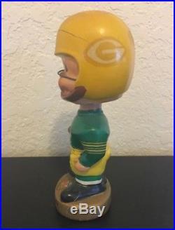 Green Bay PACKERS Vintage 60's Bobblehead. NFL. Nodder. Bobble. Bobbing