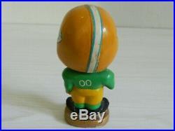 Green Bay Packers 1960's Vintage Kissing Boy Bobblehead Nodder Very Rare