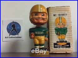 Green Bay Packers Vintage 1967 Bobblehead Made In Japan With Box