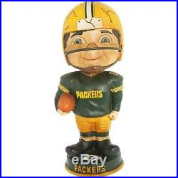 Green Bay Packers Vintage Mascot Forever Collectibles Bobblehead