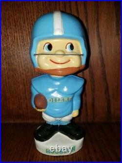 Houston Oilers Toes Up 1961 Vintage Bobble Head/Nodder/Bobbing Head Mint AFL Set