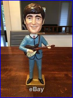 Huge Vintage 15 Beatles Promo nodder John Lennon bobblehead Promotional