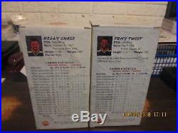 IHL Peoria Rivermen Vintage #6 Tony Twist & #22 Kelly Chase SGA NIB Bobbleheads