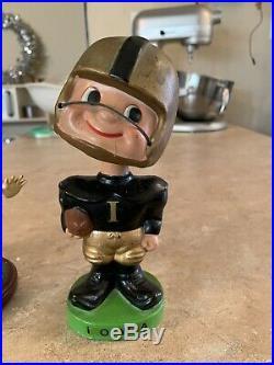 Iowa Hawkeyes Football 1960s Vintage Nodder Bobbleheads