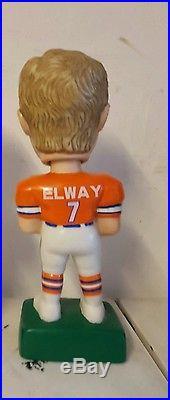 John Elway Denver Broncos Stanford vintage SAM Bobblehead Mint Condition no box
