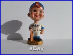 LA Dodgers Bobblehead Gold Base 1960`s Vintage
