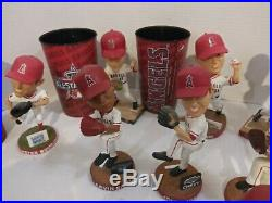 Los Angeles Angels Bobblehead COLLECTION. MLB. COLLECTORS. NO REPEATS, VINTAGE. WOW