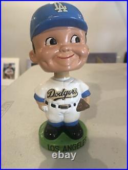Los Angeles Dodgers Bobble/Nodder Green Base 1962 -64' Bobblehead