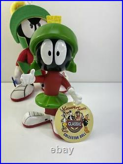 Marvin The Martian Looney Tunes Figure Plush Bobblehead Toy Lot Vintage 90s