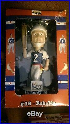 Miami Jai Alai Bobble head Doll Bobble Dobble Nodder lot of 4 Vintage 2003 Rare