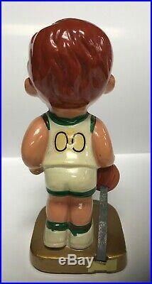 Milwaukee BUCKS Vintage 1969 NBA Nodder Lil Dribbler Figure Bobblehead