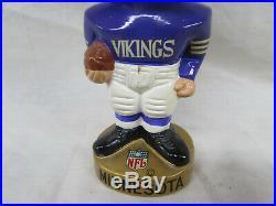 Minnesota Vikings Vintage 1960's Football Bobblehead Nodder Excellent Shape