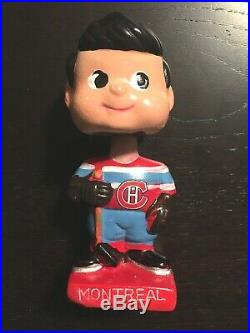 Montreal Canadiens Bobble Head Nodder Doll VINTAGE 1970's