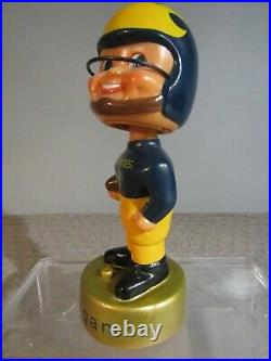 NCAA University of Michigan Wolverines Vintage Football Bobblehead Musical Rare