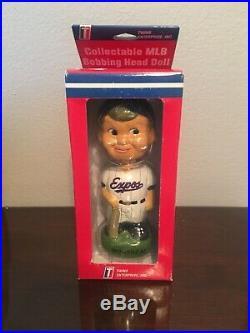 NIB Montreal Expos TEI Bobble Boy Vintage Bobblehead Bobbing Head Doll