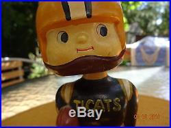 NODDER Hamilton Tiger-Cats Vintage Football Bobble Head