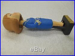 Napcoware Suzy Smart United Airlines Stewardess Bobble Head Doll Bobblehead Vtg