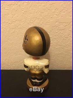 New Orleans SAINTS Vintage 60's Bobblehead. NFL. Nodder
