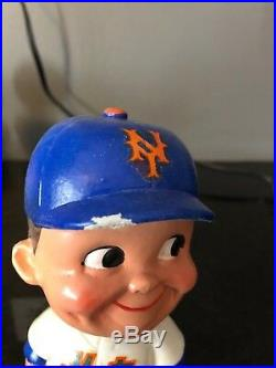 New York Mets Vintage Bobblehead Nodder 1960's era Japan 9/9