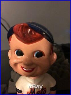 New York Mets Vintage Bobblehead Nodder Rare 3/13