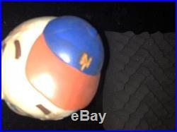 New York Mets Vintage Bobblehead Nodder Rare Mr Met Non Bank 4/13