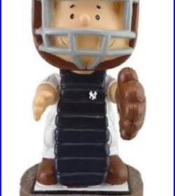 New York Yankees Peanuts Bobblehead SCHROEDER CATCHER SGA 2015 9/9/15
