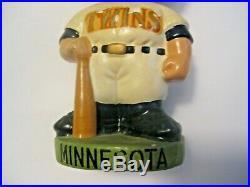 Nice Vintage 1962 Minnesota Twins Mlb Baseball Sports Bobblehead Nodder Japan