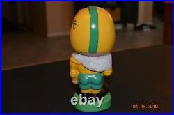 Notre Dame Nodder/bobble Head Signed By Johnny Lattner Rare