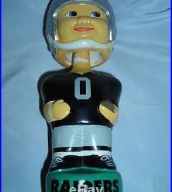 OAKLAND RAIDERS RARE Vintage Nodder Bobblehead 0 NFL