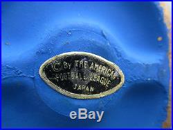 OLD VINTAGE 1960s DALLAS TEXANS AFL FOOTBALL PAPER MACHE BOBBLE HEAD K. C. CHIEFS