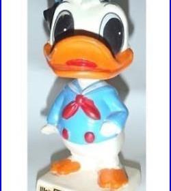 Original DONALD DUCK BOBBLE HEAD by Walt Disney Productions Japan VINTAGE RARE