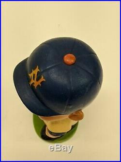 Original VTG 1960s Green Base New York Mets MLB Baseball Nodder Bobble Head