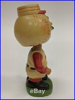 Original VTG 1962 Cincinnati Reds MLB Baseball Bobble Head Nodder Japan