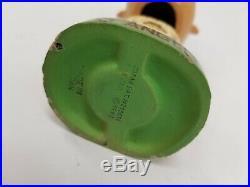 Original VTG 1962 Green Base Los Angeles Angels MLB Baseball Nodder Bobble Head
