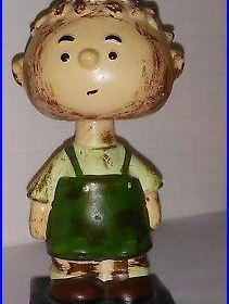 Pig Pen NODDER BOBBLE HEAD vintage FIGURE PEANUTS GANG COMIC 1960