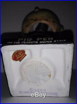 Pig Pen NODDER BOBBLE HEAD vintage FIGURE PEANUTS GANG COMIC 1960's nice doll