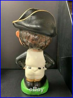 Pittsburgh PIRATES Vintage Nodder Green Base Bobblehead Bobbing Bobble Head