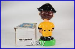 Pittsburgh Pirates Mascot Vintage Nodder-All original clean example Bobblehead