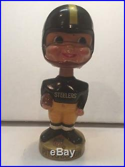 Pittsburgh Steelers vintage bobblehead nodder NFL Sports specialties Japan Rare