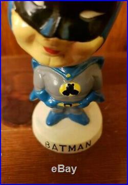 RARE 1960s Japanese Vintage Batman DC Comics Nodder Bobblehead