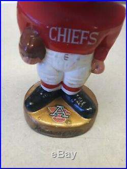 RARE 1967 Kansas City Chiefs Vintage Bobblehead Nodder japan