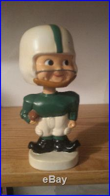 RARE VINTAGE 1960's Michigan State Spartans Toes Up Bobblehead Nodder Prototype