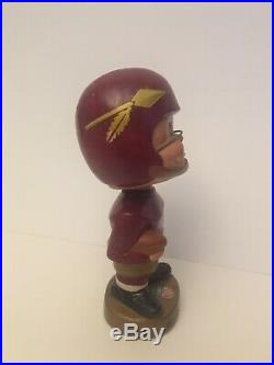 RARE Vintage Orig. Washington Redskins Arrow Logo Bobblehead Nodder Japan