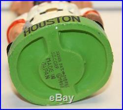 Rare 1960's Houston Colt. 45s Green Base Vintage Bobble Head Nodder