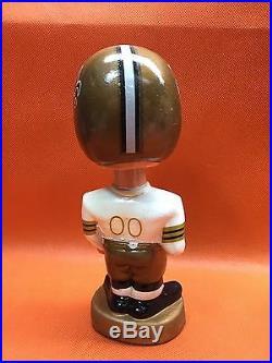 Rare 1960's Vintage Japan NFL NEW ORLEANS SAINTS Composition Bobble Head MIB