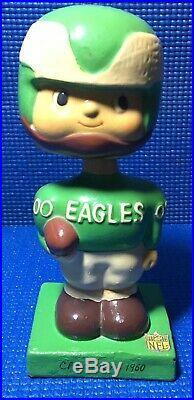 Rare Philadelphia Eagles Bobble head 1960's Vintage Original