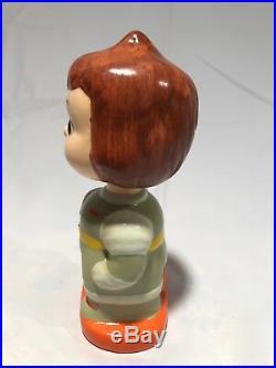 Rare VTG 1960s Sci-Fi Space Girl Astronaut Bobbing Head Nodder Bobblehead L@@K
