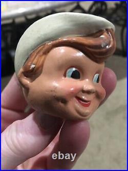 Rare Vintage 1960s Mini Houston Colts Colt 45s Bobble Head Head Only Baseball