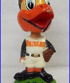 Rare Vintage 1962 Baltimore Orioles bird baseball bobblehead figure bobble head