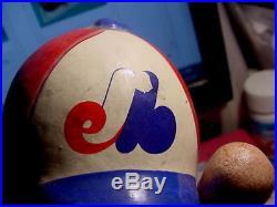 Rare Vintage BASEBALL MONTREAL EXPOS Little Boy BOBBLEHEAD